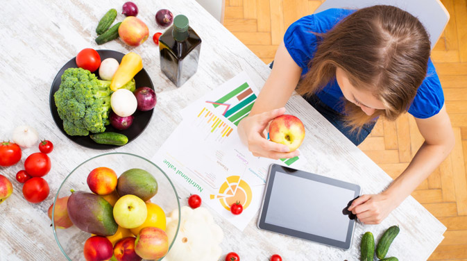 Kalorien tracken - Das 1 x 1!