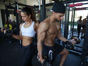 Phillip Zwoll und seine Freundin Katharina Oliveira