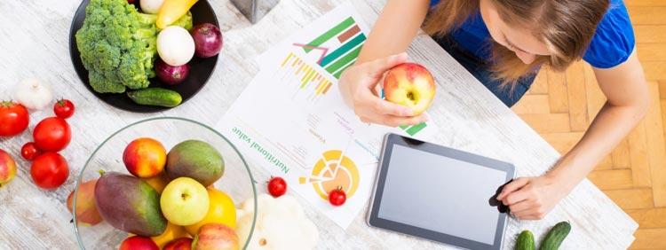 Gesunde Ernährung nach Alter, Gewicht, Größe und Aktivitäten