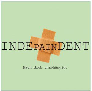 Rückenschmerzen behandeln Indepaindent Logo