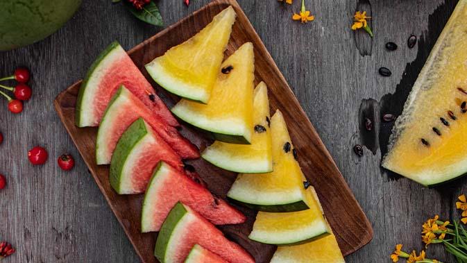 Die glykämische Last von Wassermelone ist nur etwa 1/6 so hoch, wie die von Weißbrot.