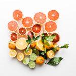 Zitrusfrüchte für Fitnessriegel