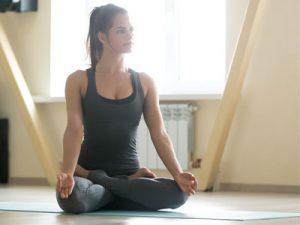 Yin Yoga - Baddha Padmasana