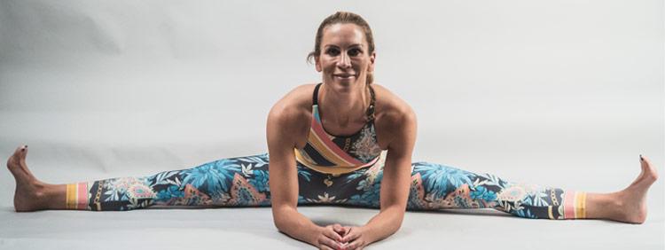 Christine Ronge vom Bürojob zur Yogamatte