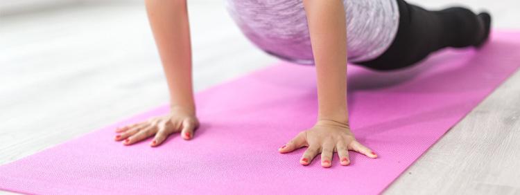 Yogaübungen für Anfänger