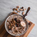 Hafer Frühstückskuchen aus der Mikrowelle