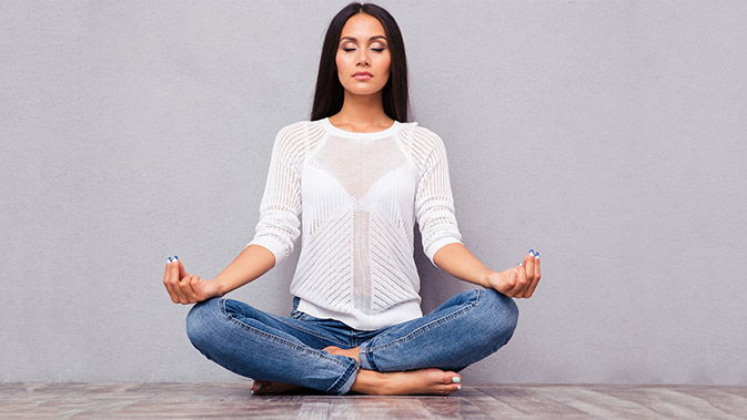 Meditation ist eine sehr wirksame Methode zur Stressbewältigung.