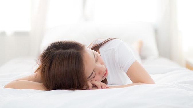Im Schlaf erholt sich der Körper vom Alltagsstress.