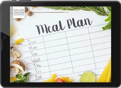 Meal Plan - Ernährungsplan erstellen