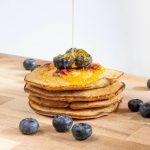 Blaubeer Protein Pancakes