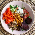 Low Carb Gemüse Bowl