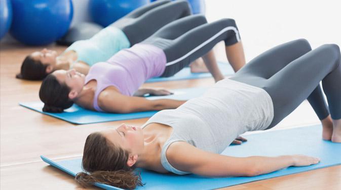 Pilates Übungen zur Rückbildung nach der Schwangerschaft