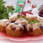 Whey Protein Muffins Vanille Kirschen