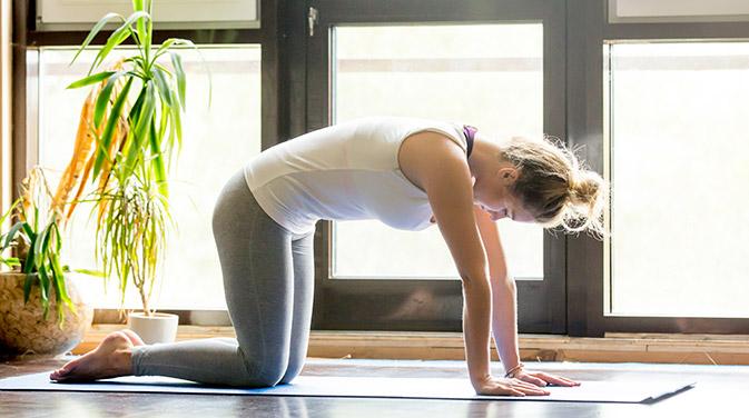 Beckenboden trainieren mit Pilates