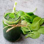 Grüner Smoothie mit Spinat Rezept
