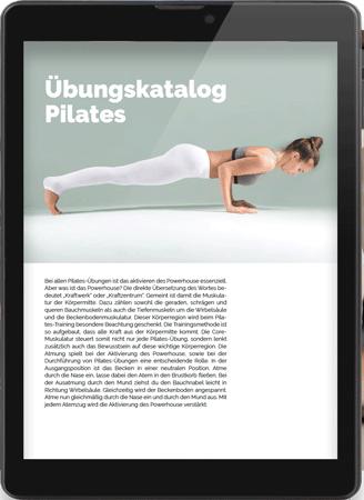 21 Pilates Übungen als PDF