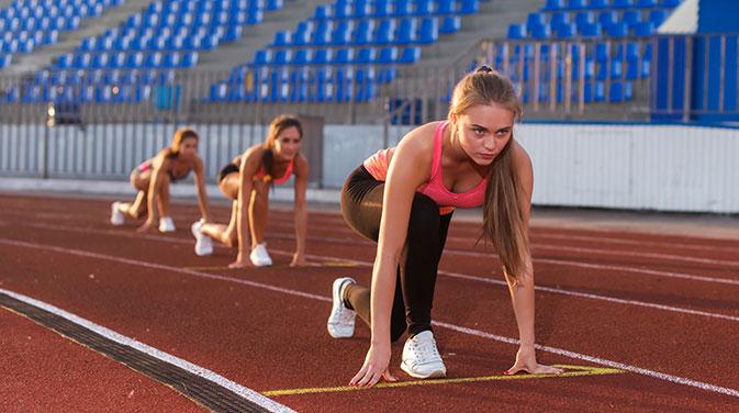 Bei einem Wettkampf zwischen physisch gleich starken Gegnern gewinnt meist der oder die mit der stärksten Willenskraft.