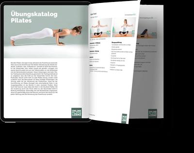 Pilates Übungen im Übungskatalog
