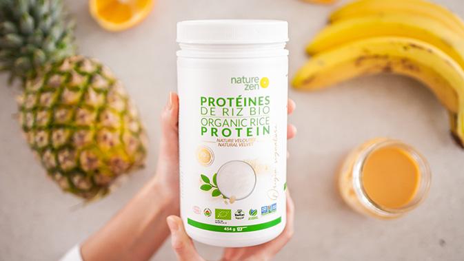 Es gibt zahlreiche Proteinpulver auf pflanzlicher Basis, die keine Laktose beinhalten.
