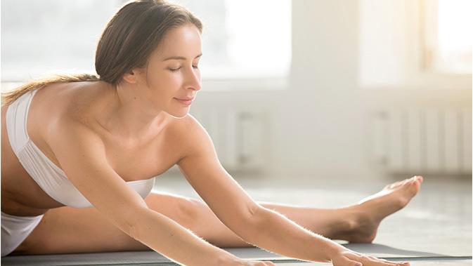 Yoga Übung: Dragon Fly