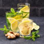 Zitronenlimonade mit Minze - für den extra Frischekick